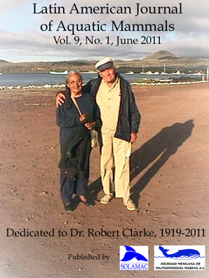 On the cover: Dr. Robert Clarke and his wife Obla Paliza on the shores of the Galápagos Islands in 2001, photo courtesy of Fernando Félix